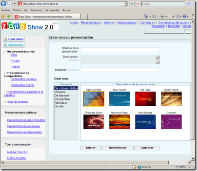 zoho creator software online para creacion y gestion de bases de datos